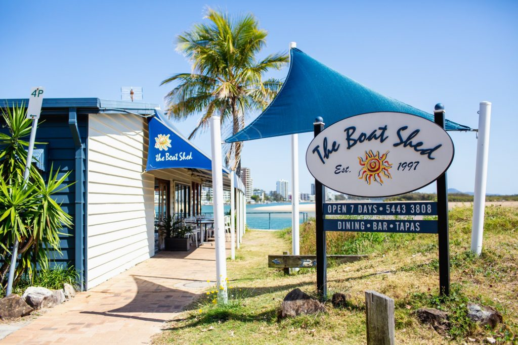 The Boat Shed Restaurant Cotton Tree